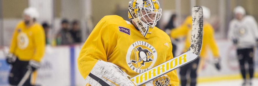 Blue Jackets vs Penguins NHL Week 23 Odds & Game Info