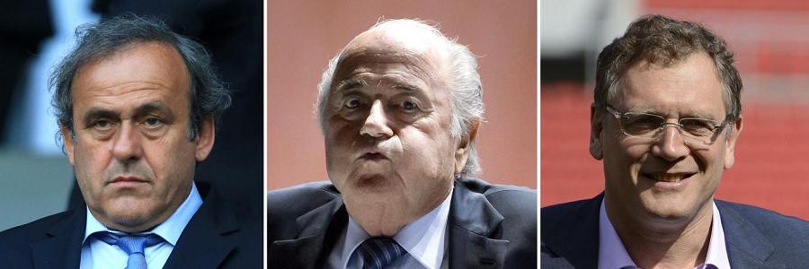 Platini, Blatter and Valcke