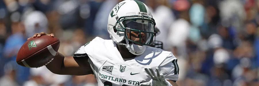 Portland State at Oregon NCAAF Week 2 Lines & Pick.