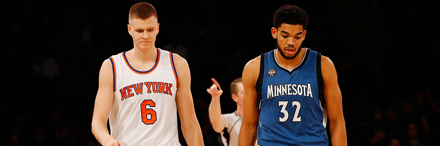 Karl Anthony Towns is edging Kristaps Porzingis by the edge of their teeth for the ROY award.