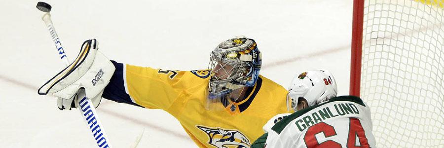 Wild vs Predators NHL Betting Lines & Game Preview