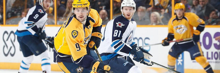 Jets at Predators NHL Betting Lines & Pick for Thursday Night.
