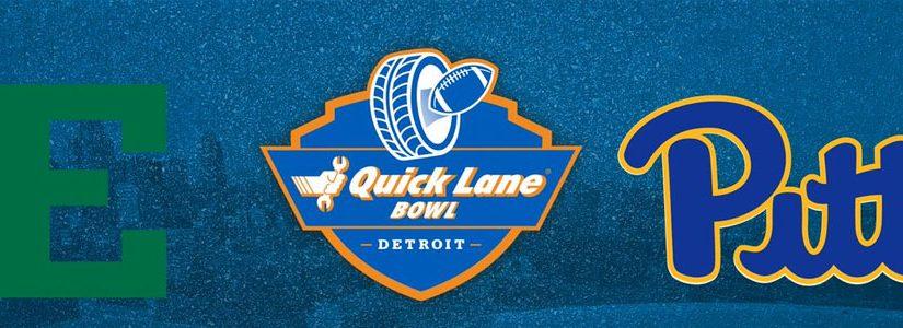Pittsburgh vs Eastern Michigan 2019 Quick Lane Bowl Odds, Preview & Pick.