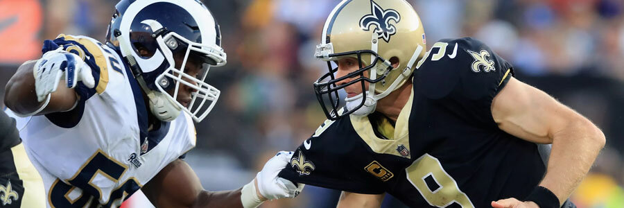 The NFL Odds to win the NFC are improving for the Saints.