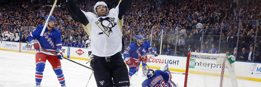 Pittsburgh Penguins vs NY Rangers Game 4 NHL Playoff Odds Preview