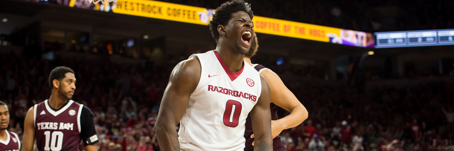 Jaylen Barford is one of the reasons to consider the Razorbacks as your March Madness Betting Pick.