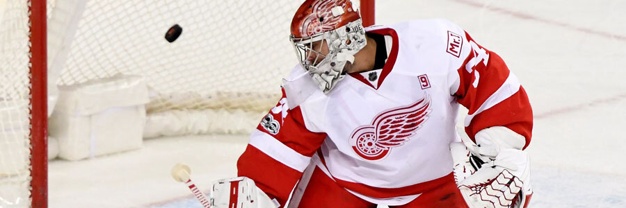 The Red Wings should be one of your NHL Betting picks of the week.