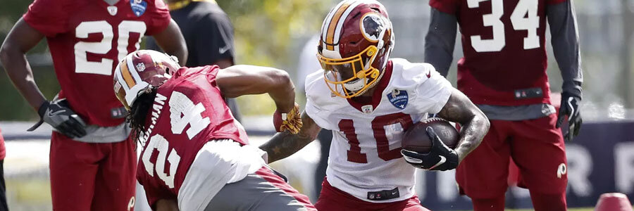 The Redskins are huge underdogs for NFL Week 5 against the Patriots.