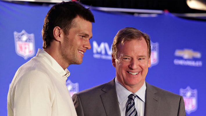 Roger-Goodell and brady