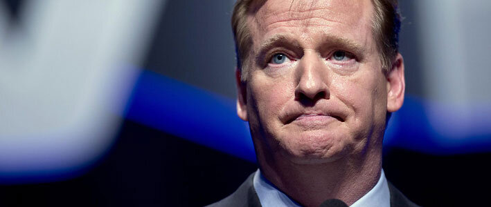 Roger-Goodell is one of the top characters from the 2014 NFL season