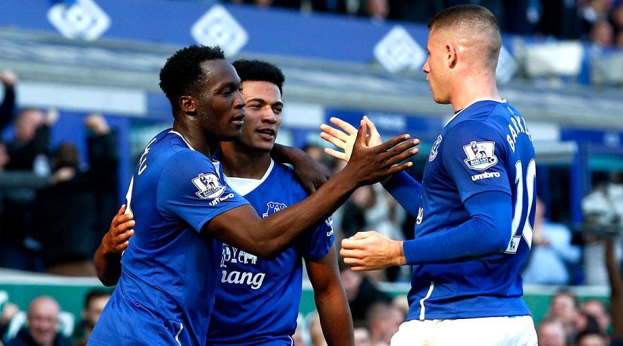 Romelu Lukaku Everton FC