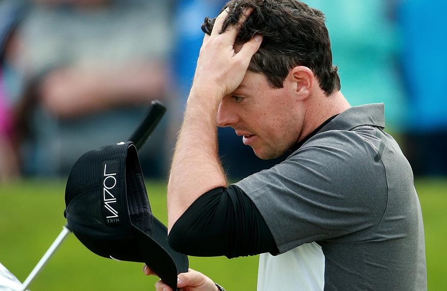 Rory McIlroy Soccer Injury Spoils Golf Odds