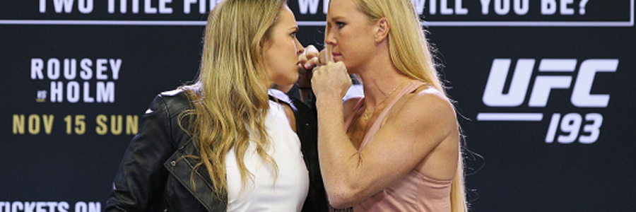 Holly holm vs ronda rousey betting line best place to bet on ufc fights