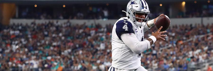 Cowboys vs Saints 2019 NFL Week 4 Lines & Pick for Sunday Night.