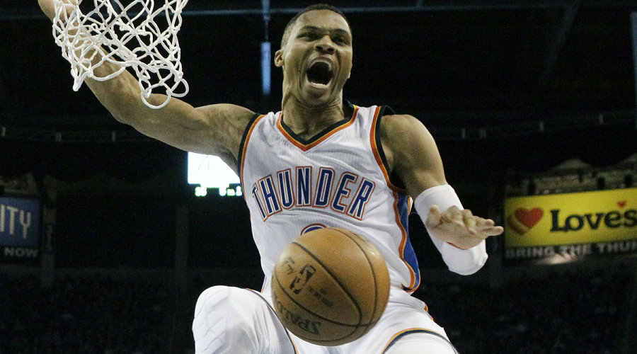 Russell Westbrook Thunder NBA Lines