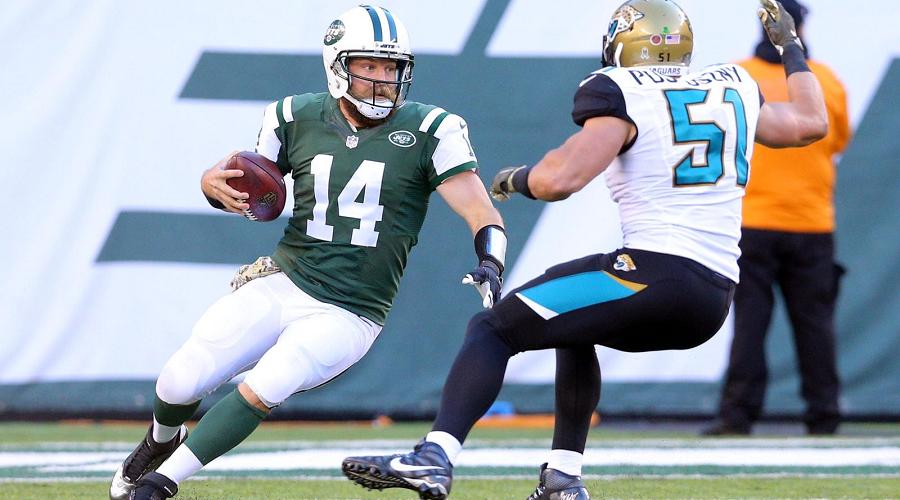 Ryan Fitzpatrick NY Jets vs Jaguars
