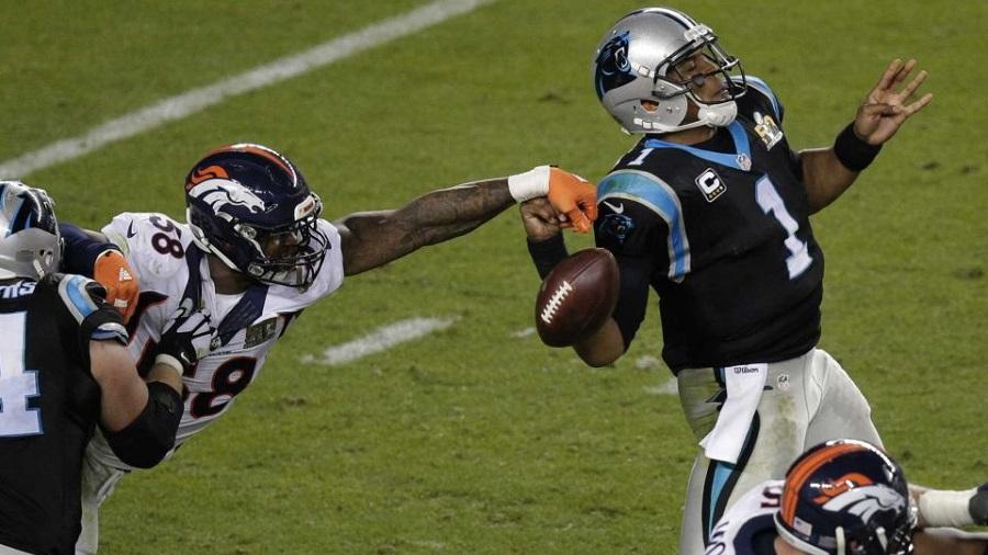 Denver Defense dominates Carolina in Super Bowl 50