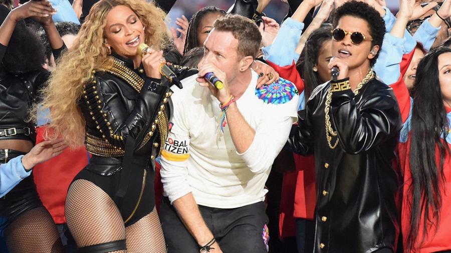 Coldplay Super Bowl 50 Halftime Show
