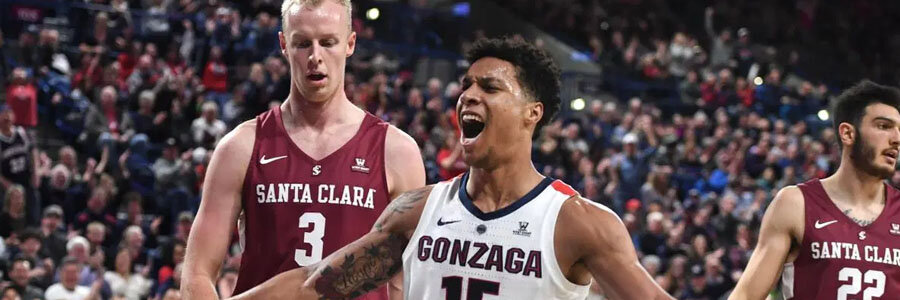Gonzaga vs Santa Clara should be an easy one for the Bulldogs.
