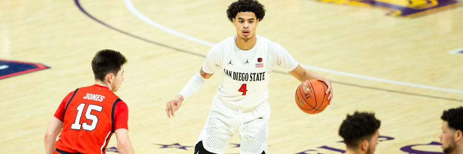Fresno State vs San Diego State 2019 College Basketball Lines & Pick.