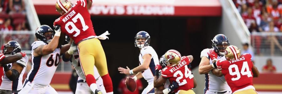 San Francisco is Underdog Against Minnesota in NFL Preseason Week 3