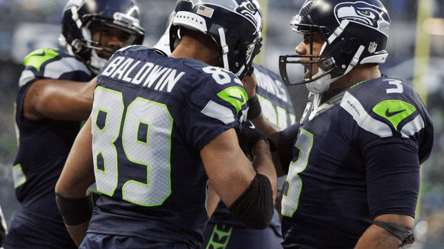 If there's a dangerous line up of people it's the Seahawks offensive crew.