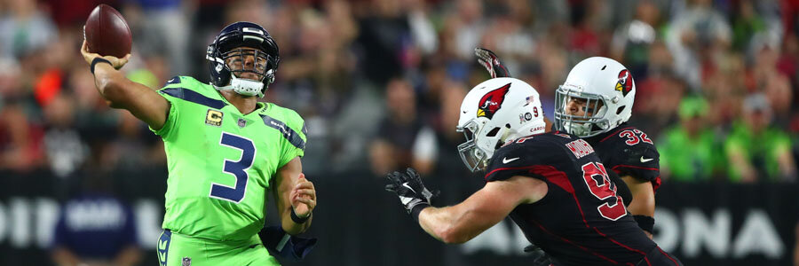 The Seahawks are favorites to win in NFL Week 4 against the Cardinals.