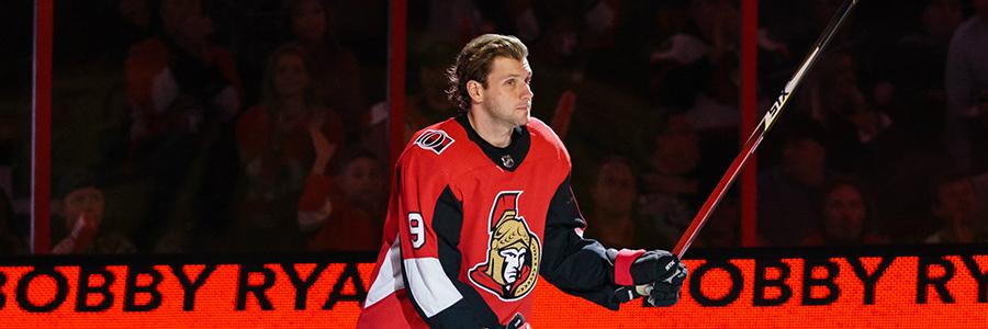 Senators vs Penguins NHL Hockey Odds & TV Info