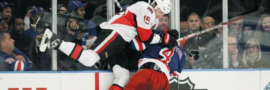 Senators vs Rangers NHL Playoffs