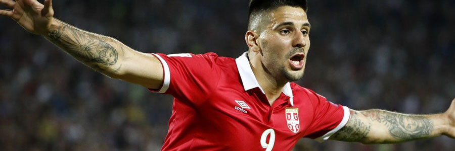 Aleksandar Mitrovic and Serbia comes in as the 2018 World Cup Betting favorites against Costa Rica.