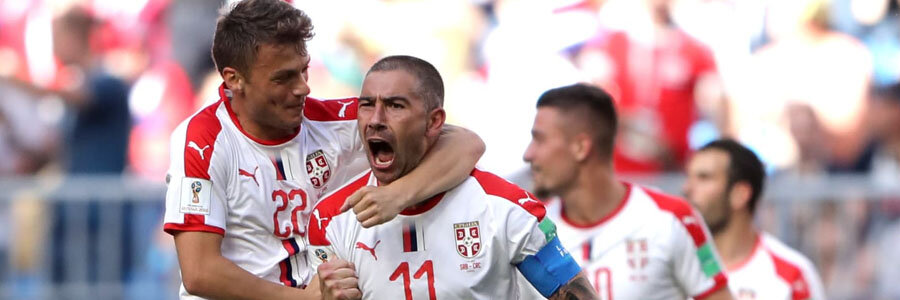 Serbia is the 2018 World Cup Betting underdog against Brazil.