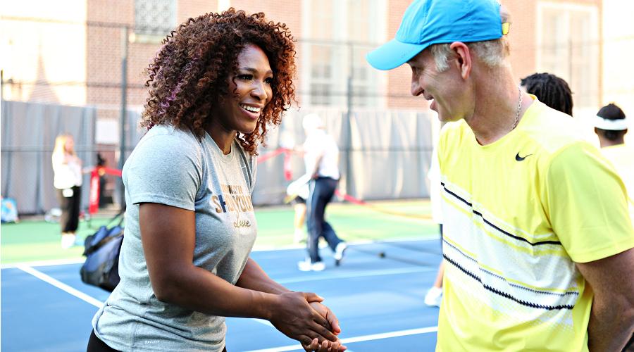 Serena vs McEnroe
