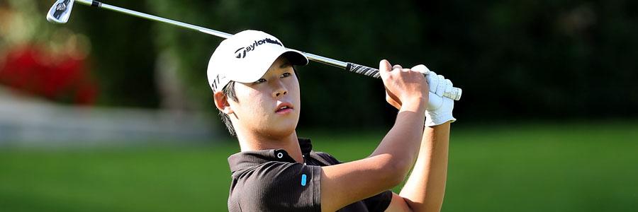 Si Woo Kim looks like an underdog for the Wyndham Championship.