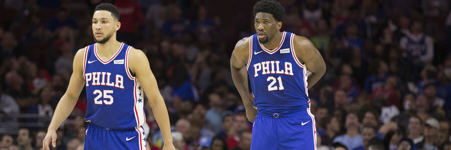Despite playing at home, the 76ers shouldn't be one of your NBA Betting Picks for this week.