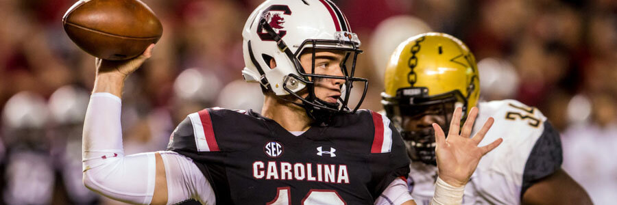 The NCAAF Week 11 Betting Odds favor South Carolina.
