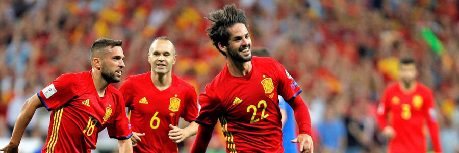 Spain is among the favorites at the 2018 World Cup Betting Odds.