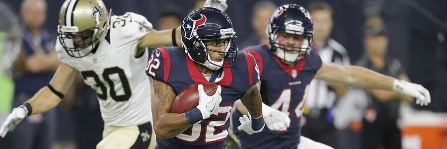 Sports Betting: Players are gambling that the Houston Texans will need to win by more than four points and Seahawks will win by more than one point.