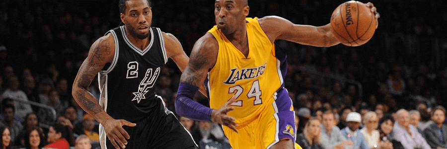 The Lakers and Spurs have already played twice, Spurs won both times.