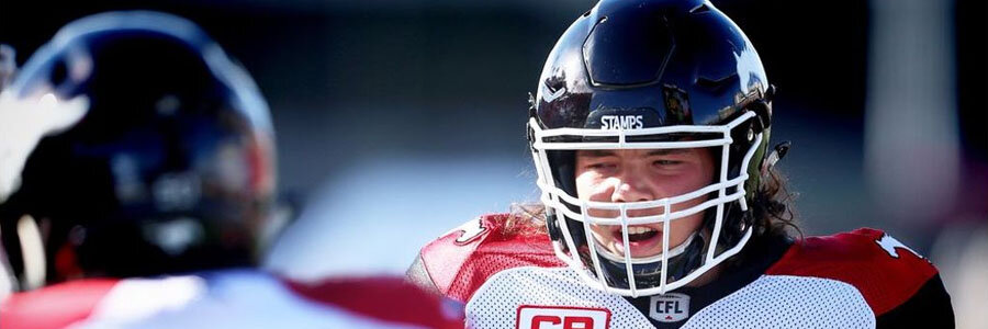 The Stampeders dominate the Canadian Football Lines for the Western Final.