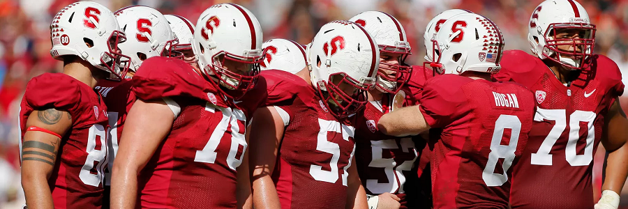 NCAA Football Odds Report: Stanford to Run The Football Again
