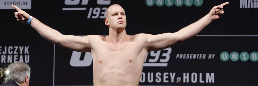 Stefan Struve is one of the favorites for UFC on ESPN 7.