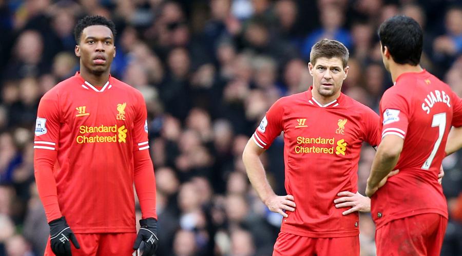 Suarez, Gerrard and Sterling