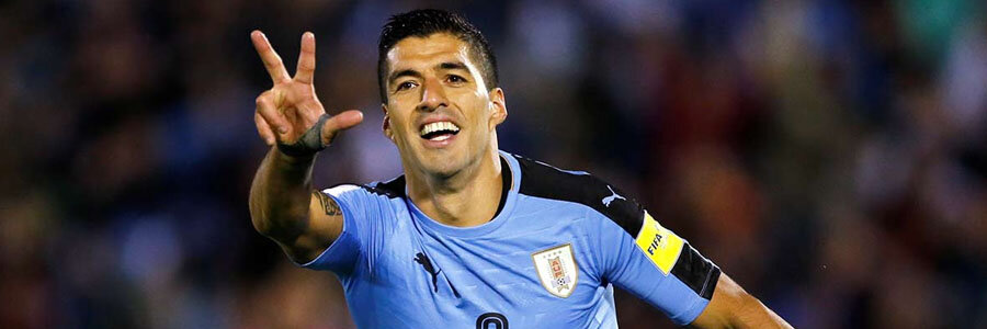 Uruguay is the 2018 World Cup Betting favorite to win Group A.