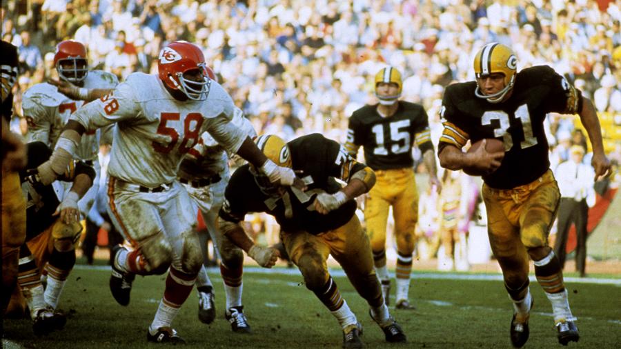 Super Bowl I KC Chiefs vs Green Bay Packers