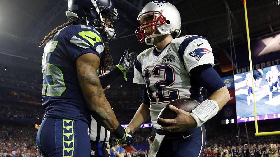 Super Bowl XLIX Seattle Seahawks vs New England Patriots