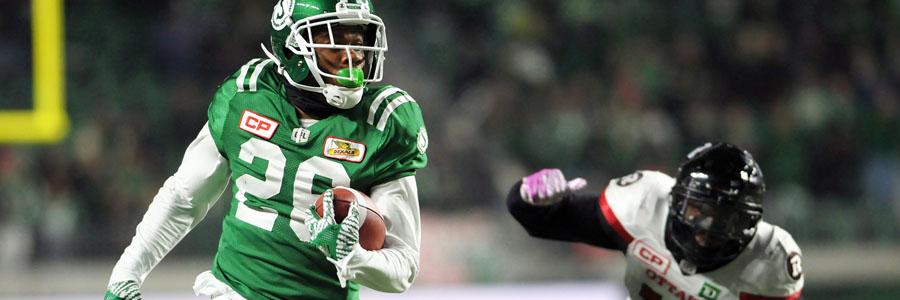 CFL Playoffs Odds & Pick : Saskatchewan vs. Ottawa