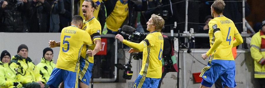 Sweden vs Denmark Euro Qualifiers Soccer Betting
