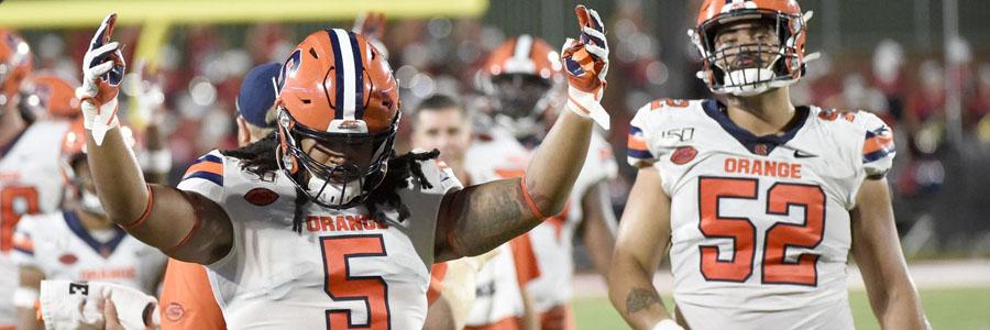Syracuse vs Maryland 2019 College Football Week 2 Betting Lines & Analysis.