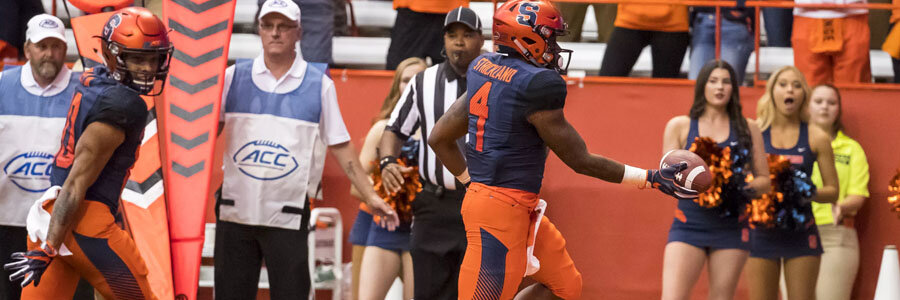 Syracuse is the underdog for NCAA Football Week 12 game against Boston College.