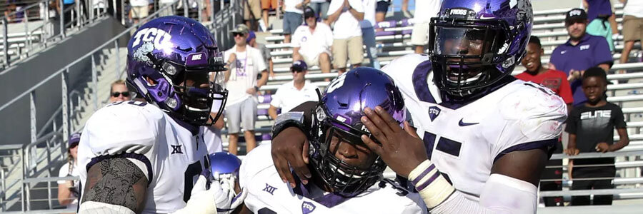 Kansas vs TCU should be an easy one for the Horned Frogs.